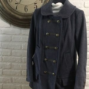 Marc By Marc Jacobs military style peacoat
